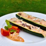 Greek Style Stuffed Zucchini Recipe