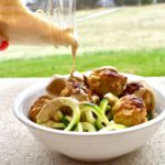 Sesame Turkey Meatballs